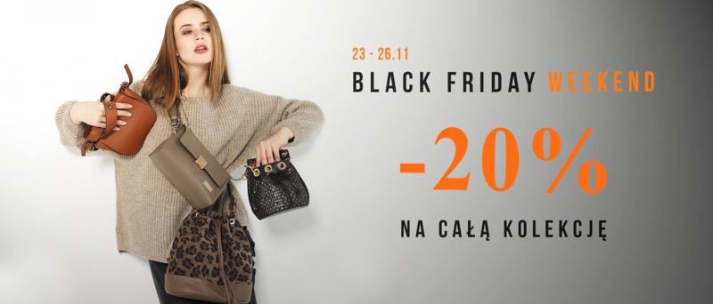 Black Friday Venezia: 20% rabatu na całą kolekcję