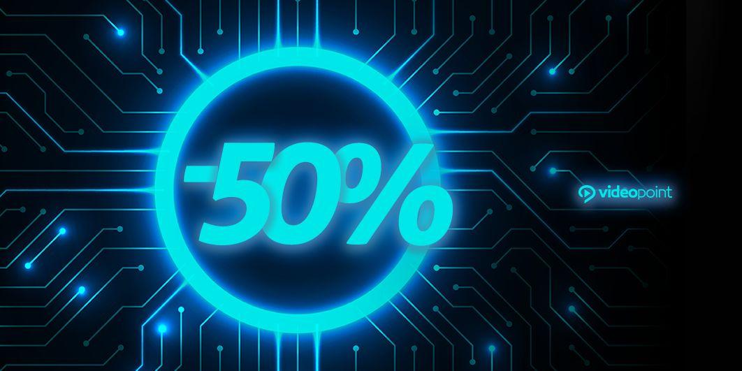 Videopoint: 50% rabatu na wybrane kursy i szkolenia