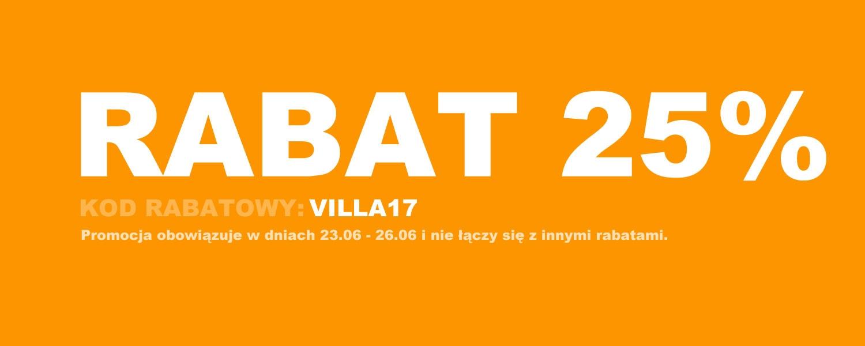 Villa Italia: 25% zniżki na porcelanę