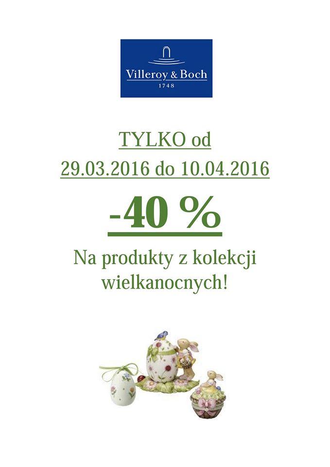 Villeroy&Boch: 40% zniżki na produkty z kolekcji Wielkanocnej