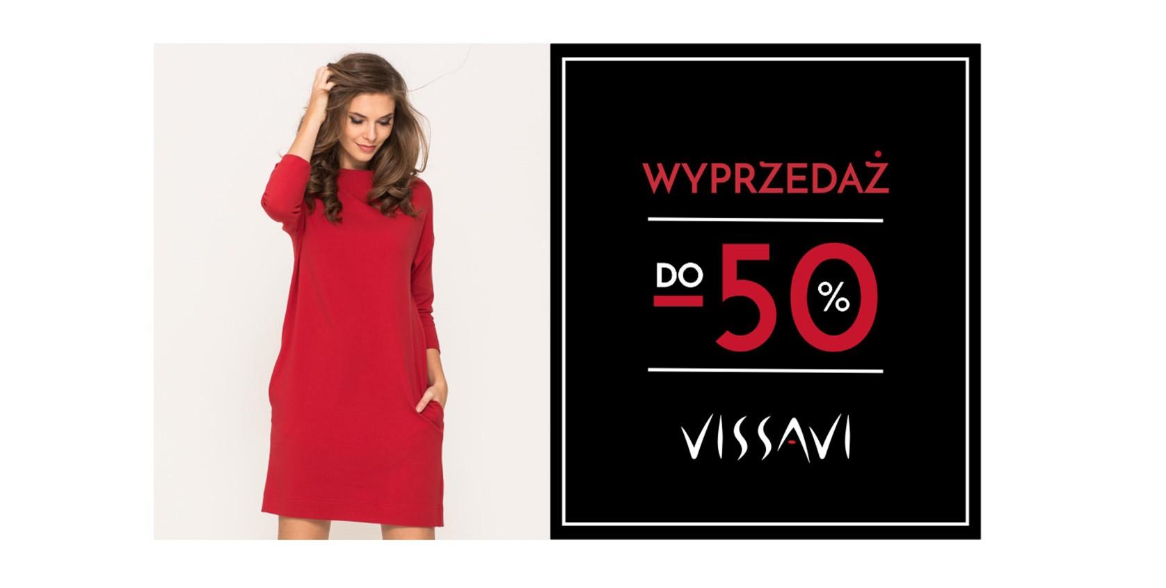 Vissavi: wyprzedaż do 50% rabatu na odzież damską m.in. sukienki na każdą okazją                         title=