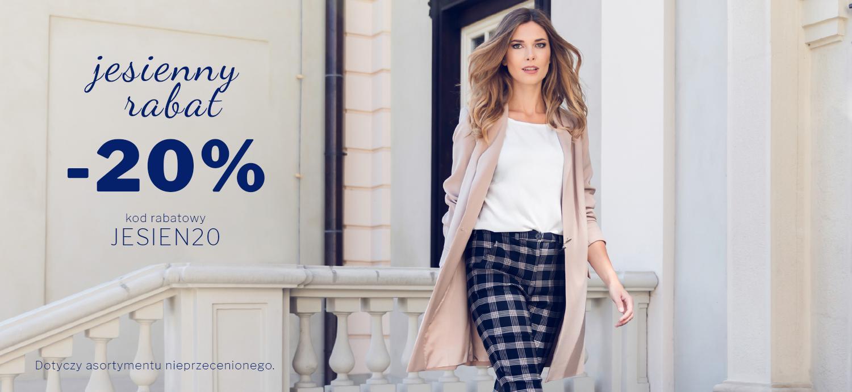 Vissavi: 20% rabatu na odzież damską