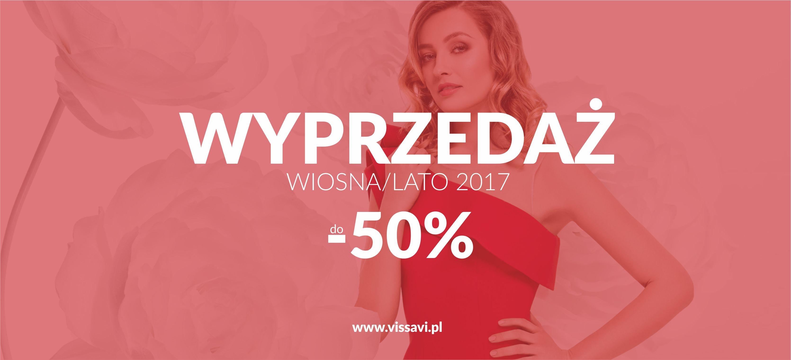 Vissavi: wyprzedaż do 50% zniżki na kolekcję wiosna/lato 2017