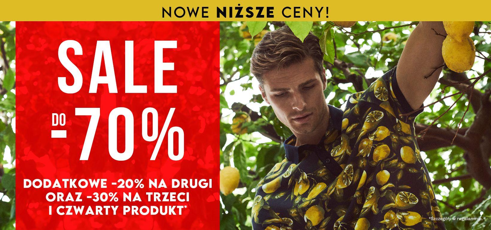 Vistula: wyprzedaż do 70% zniżki na odzież męską