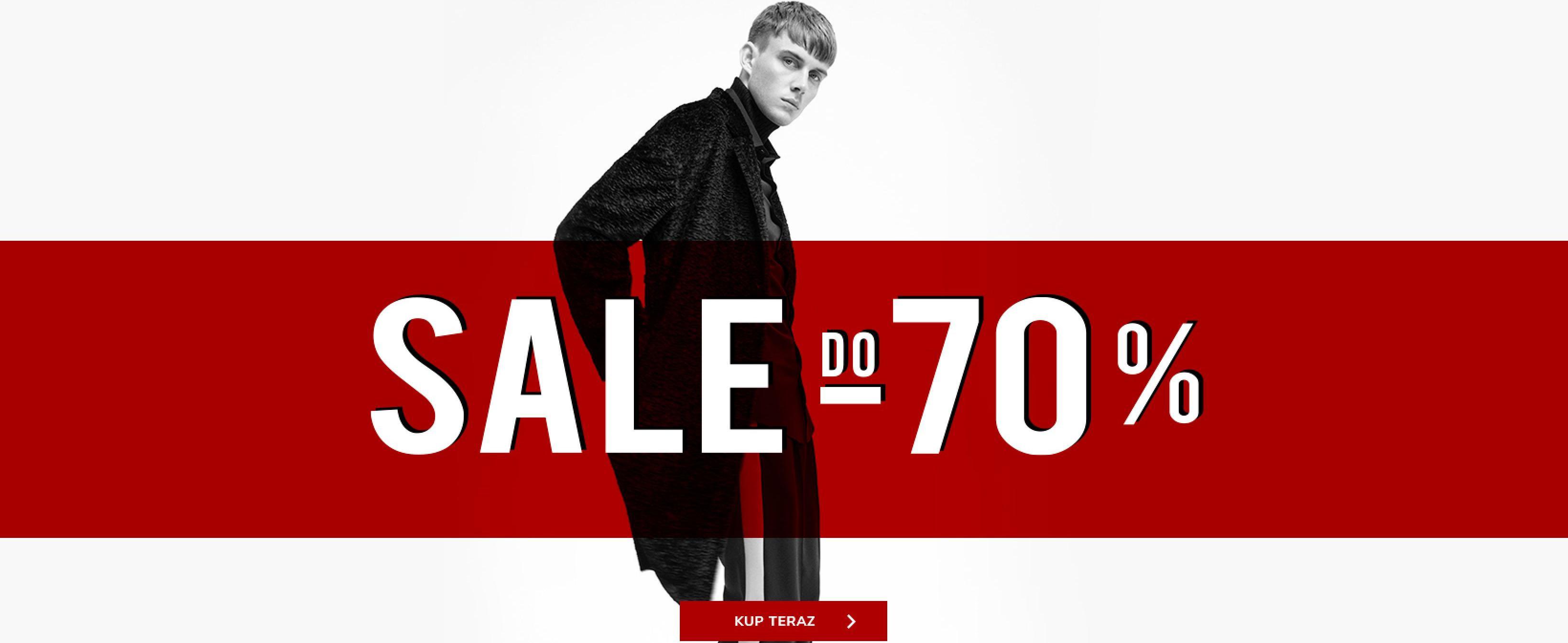 Vistula: wyprzedaż do 70% rabatu na odzież męską oraz damską