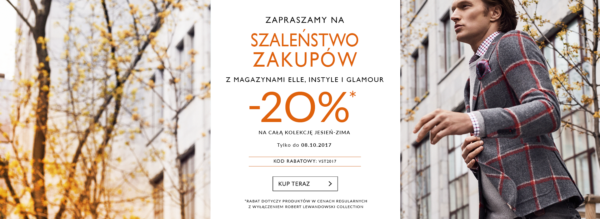Vistula Vistula: weekend zniżek 20% rabatu na całą kolekcjęjesień-zima