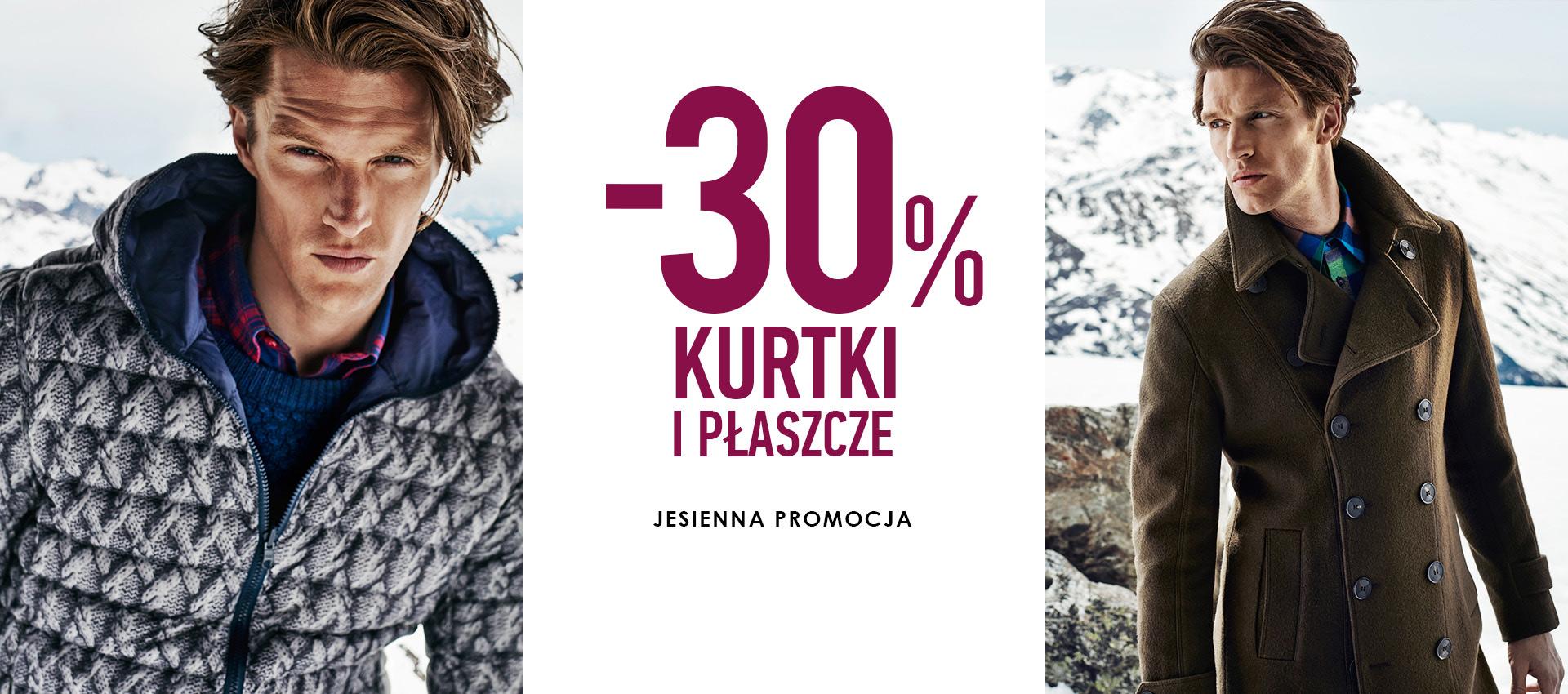 Vistula: kurtki i płaszcze 30% taniej