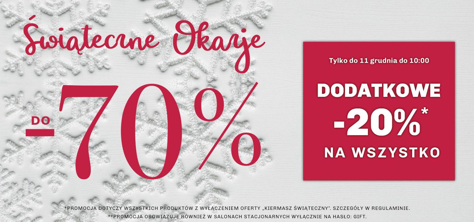 Vistula: Świąteczne Okazje do 70% rabatu na odzież męską