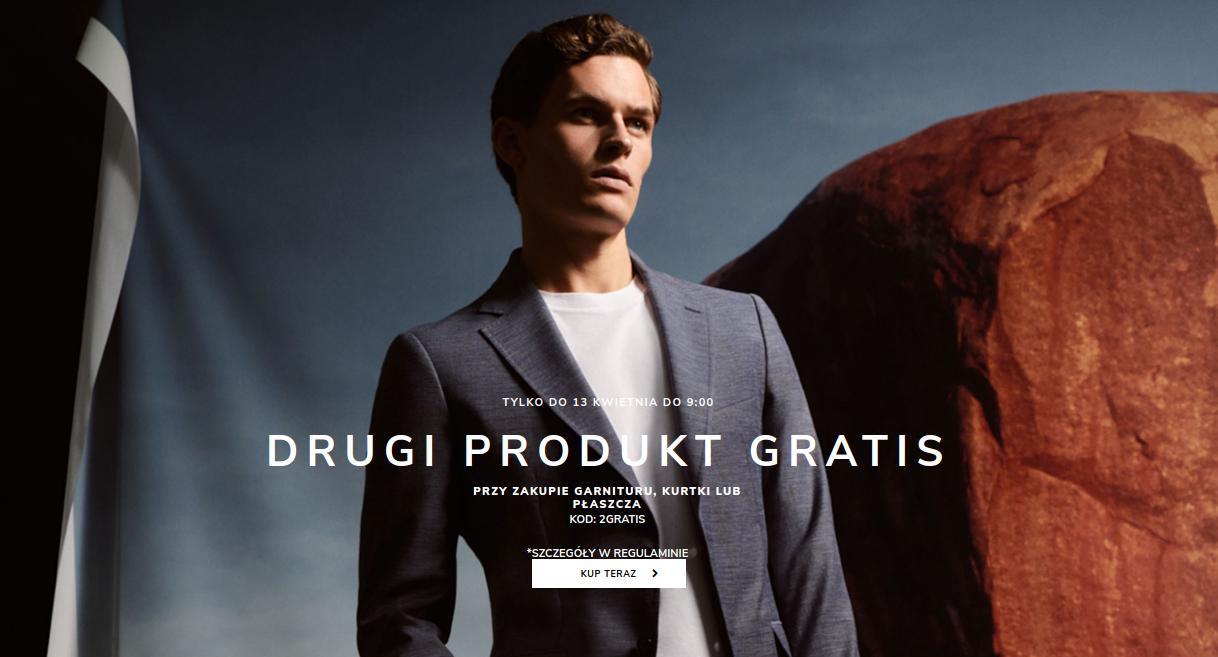 Vistula: przy zakupie garnituru, kurtki lub płaszcza drugi produkt GRATIS