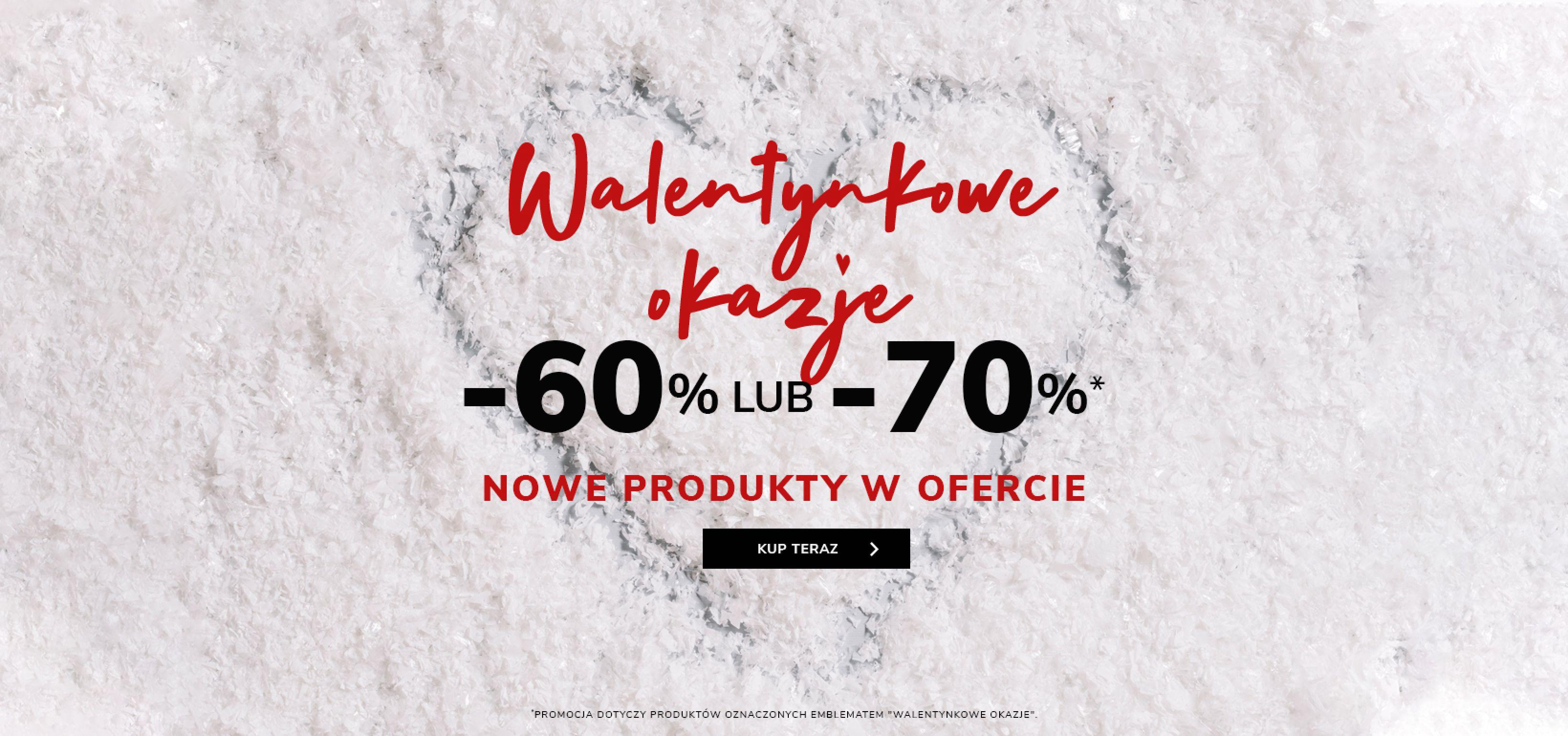 Vistula: Walentynkowe Okazje 60% lub 70% zniżki na odzież męską