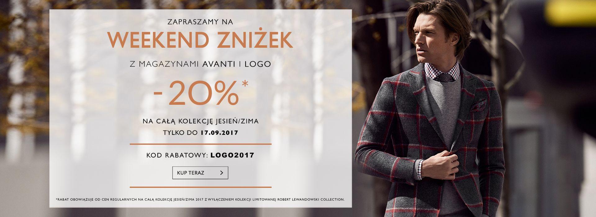 Vistula Vistula: weekend zniżek 20% zniżki na całą kolekcję jesień-zima 2017/2018