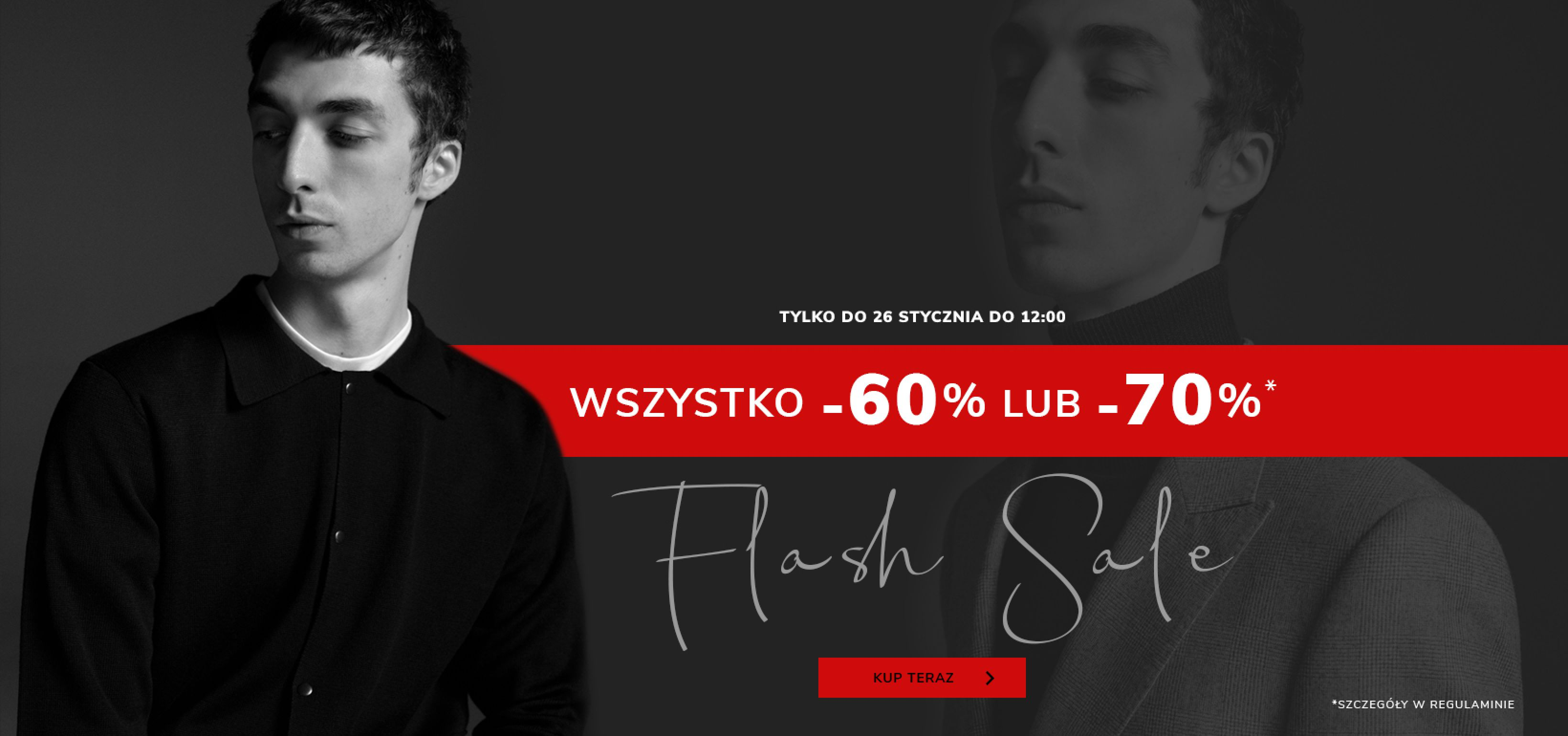 Vistula: wyprzedaż 60% lub 70% zniżki na odzież męską