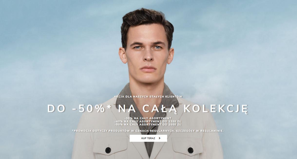 Vistula: do 50% rabatu na całą kolekcję odzieży męskiej