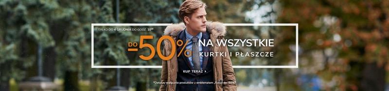 Vistula: do 50% rabatu na wszystkie kurtki i płaszcze