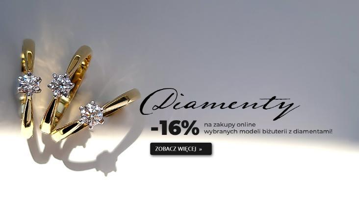 WEC: 16% zniżki na wybrane modele biżuterii z diamentami
