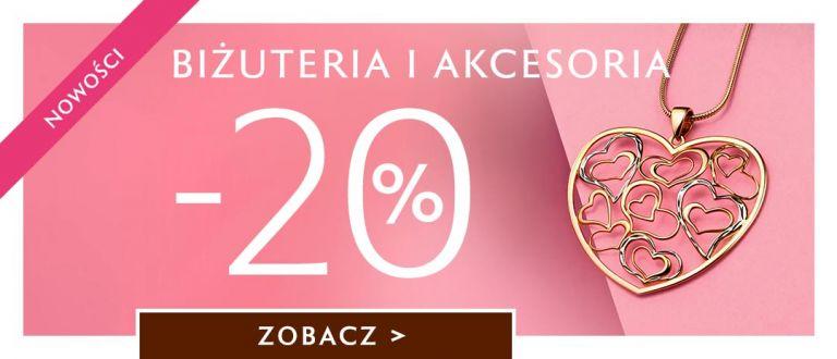 W.Kruk: 20% rabatu na nowości z biżuterii oraz akcesoriów