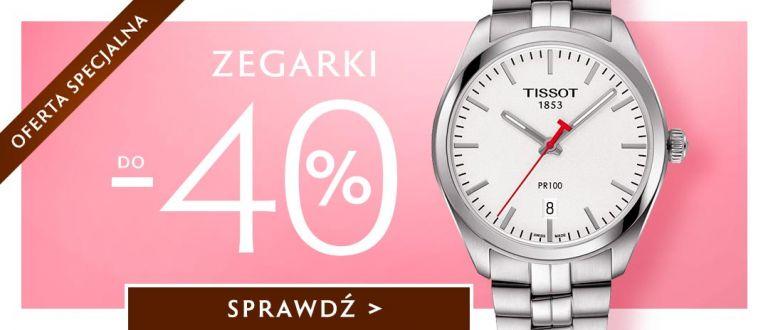 W.Kruk: do 40% rabatu na zegarki