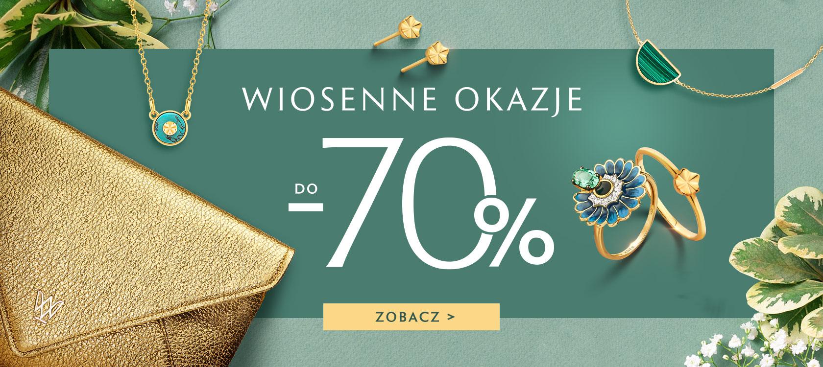W.Kruk: do 70% rabatu na biżuterię, torebki, portfele i inne akcesoria