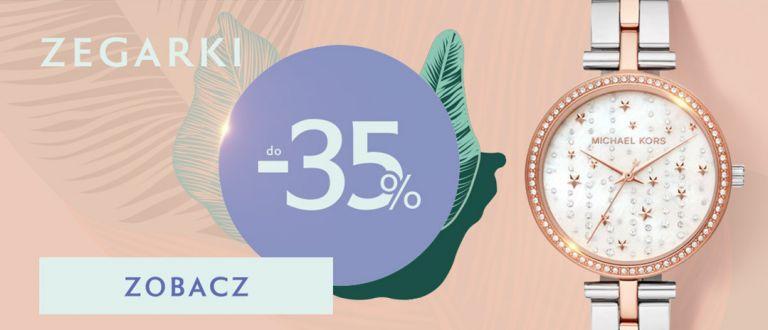 W.Kruk: do 35% zniżki na zegarki - letnia oferta specjalna