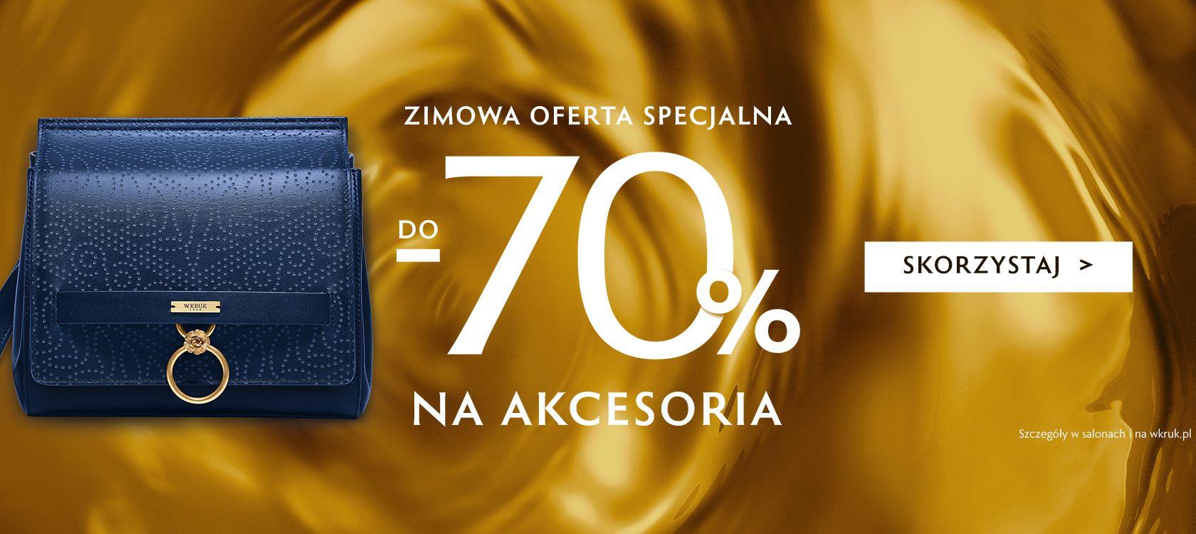 W.Kruk: wyprzedaż do 70% rabatu na akcesoria