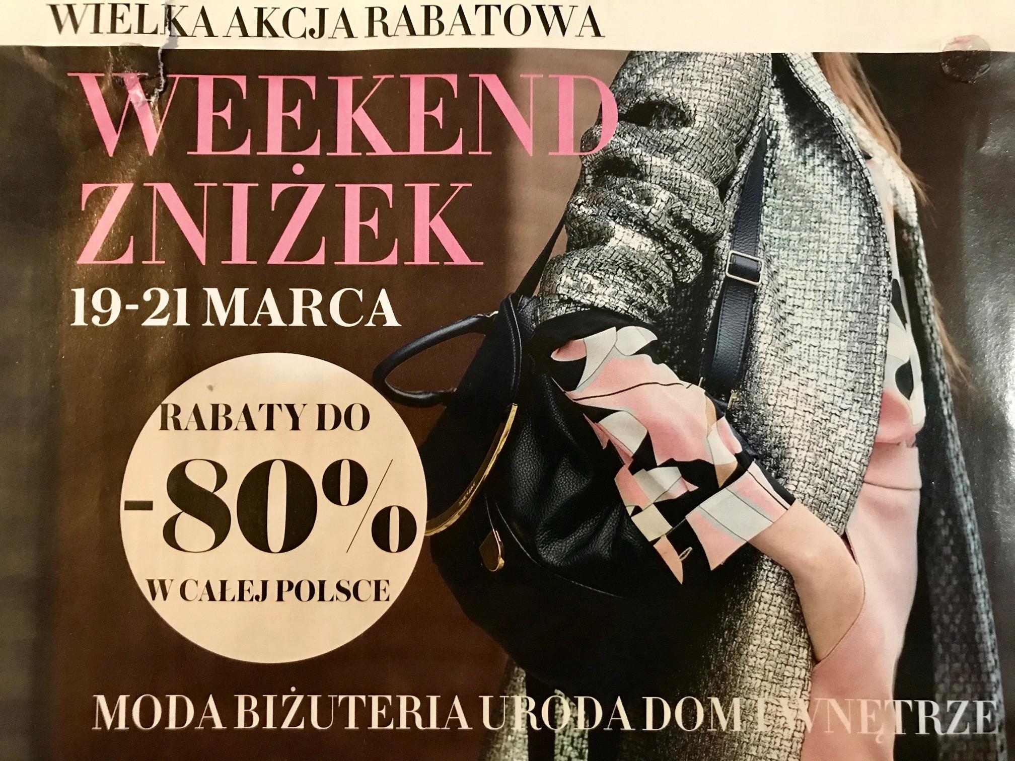 Weekend Zniżek z magazynami Avanti, Logo oraz Wysokie Obcasy w całej Polsce 19-21 marca 2020