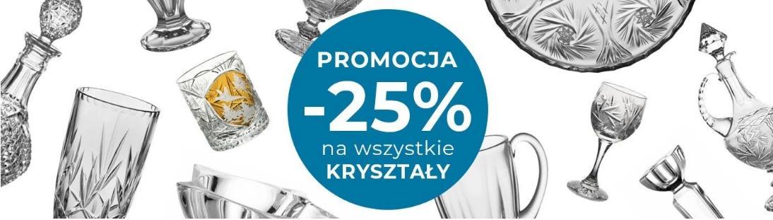 Witek Home Witek Home: 25% zniżki na kryształy