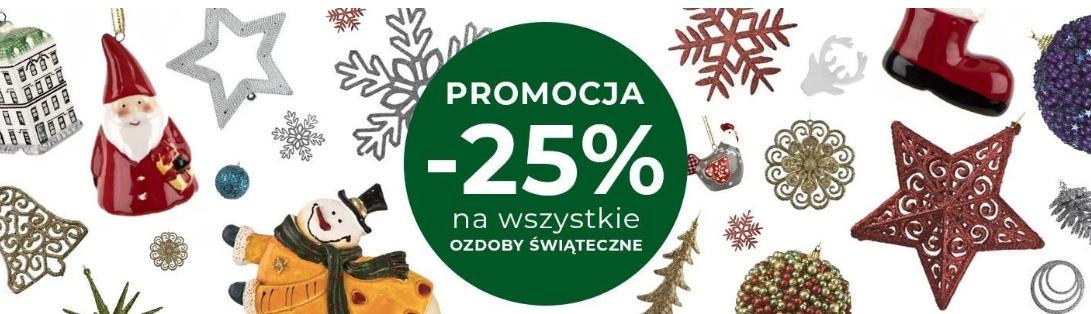 Witek Home: 25% zniżki na wszystkie ozdoby świąteczne