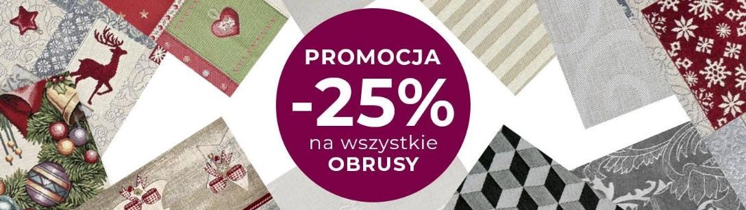 Witek Home: 25% zniżki na wszystkie obrusy