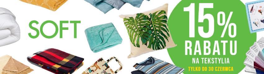 Witek Home Witek Home: 15% zniżki na tekstylia