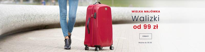 a09b7b7085fa0 Wittchen: na walizki podróżne od 99 zł