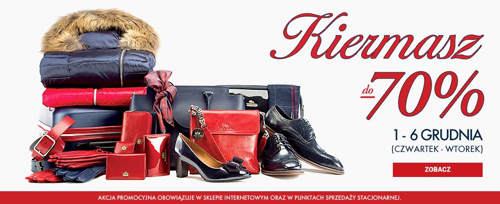 9b39c669e2d20 Kiermasz Wittchen: do 70% rabatu na portfele, paski, torebki, rękawiczki,  odzież i bagaż