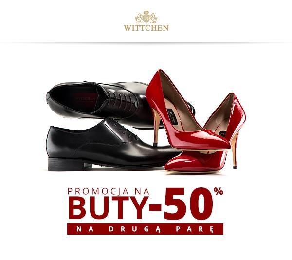 Wittchen: promocja 50% na drugą parę butów