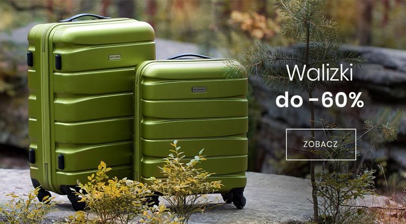 Wittchen: do 60% zniżki na walizki