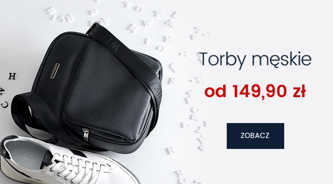 Wittchen: torby męskie od 149,90 zł