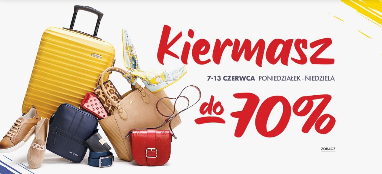 Wittchen: do 70% zniżki na torby, torebki, walizki, portfele, paski i wiele innych - Kiermasz