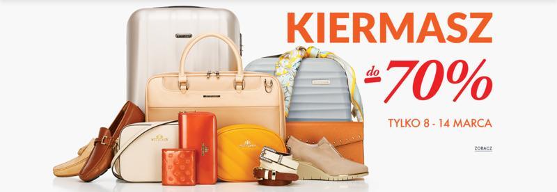 Wittchen Wittchen: do 70% zniżki na walizki, torby podróżne, torebki i galanterię skórzaną