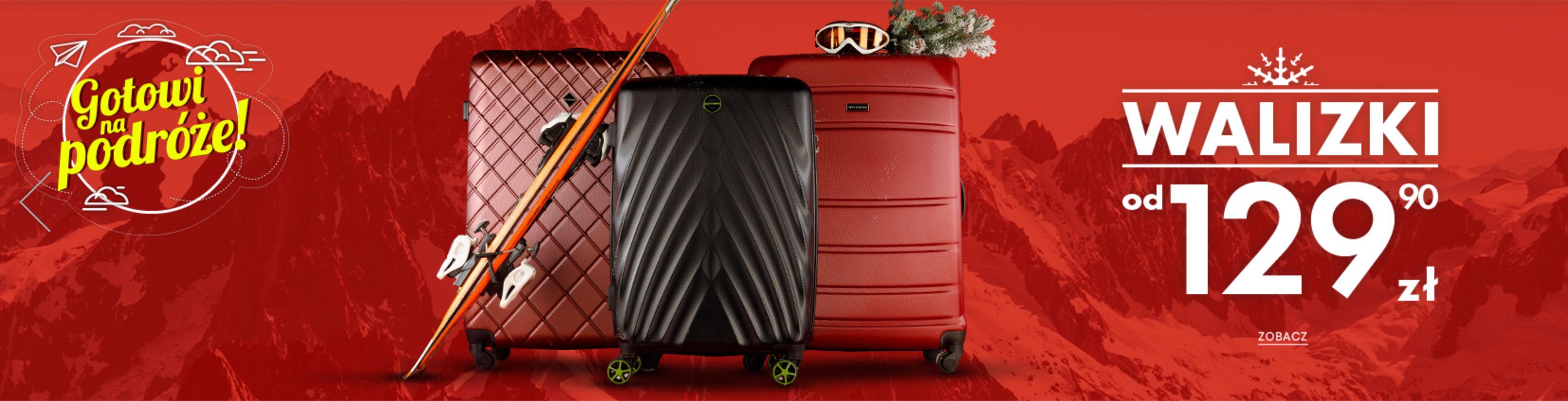 Wittchen: walizki podróżne od 129,90 zł