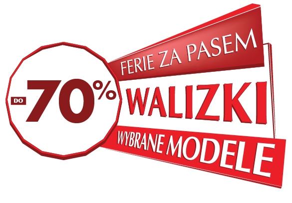 Wittchen: wyprzedaż do 70% zniżki na wybrane modele walizek                         title=
