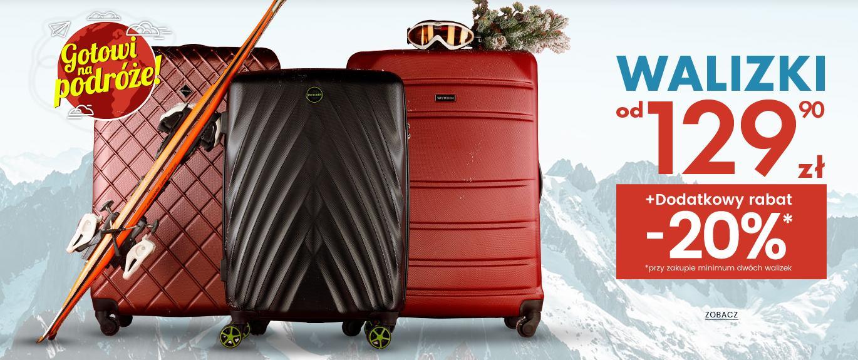 Wittchen Wittchen: dodatkowe 20% zniżki na walizki przy zakupie 2 szt.