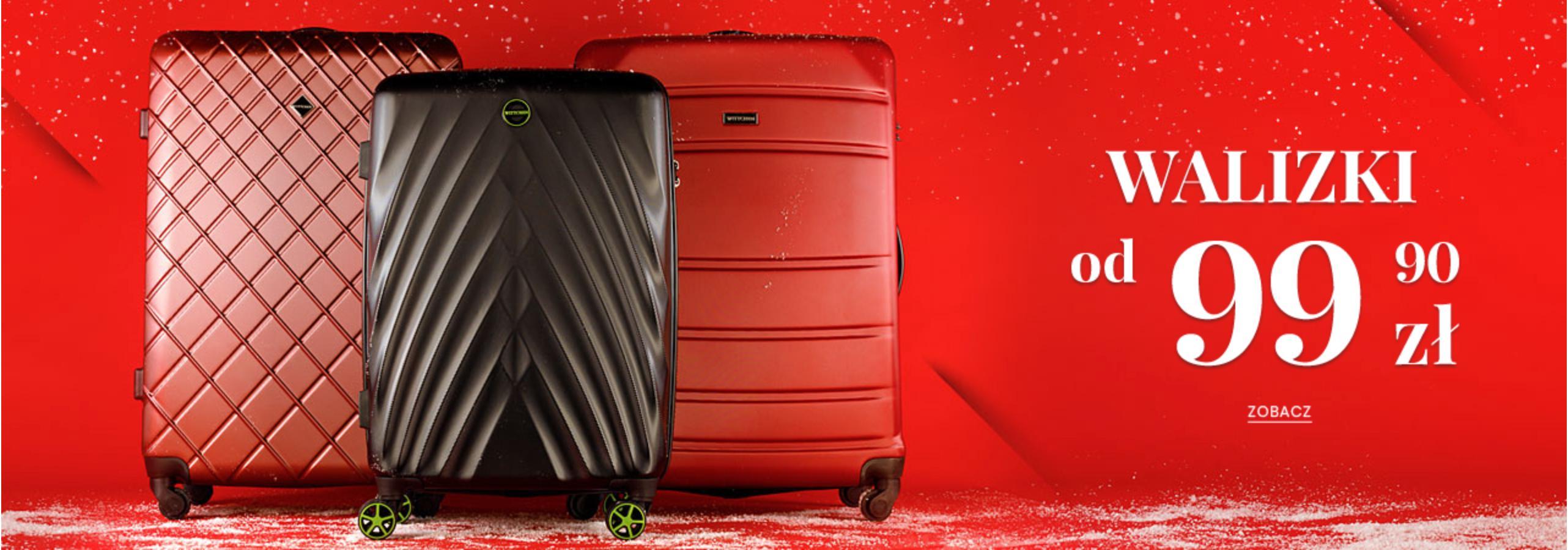Wittchen: walizki podróżne od 99,99 zł