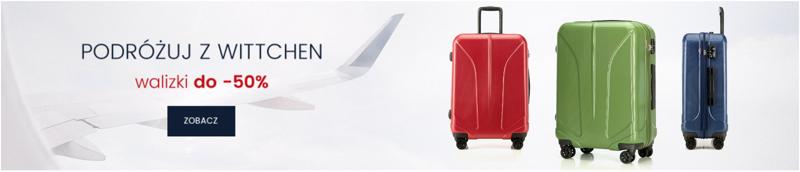 Wittchen: do 50% zniżki na walizki podróżne                         title=