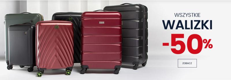 Wittchen: 50% zniżki na wszystkie walizki
