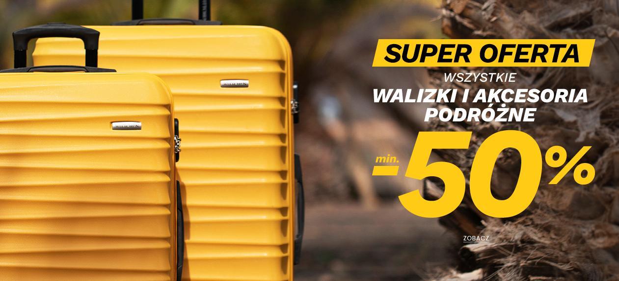 Wittchen: od 50% do 70% rabatu na bagaż - walizki i akcesoria podróżne