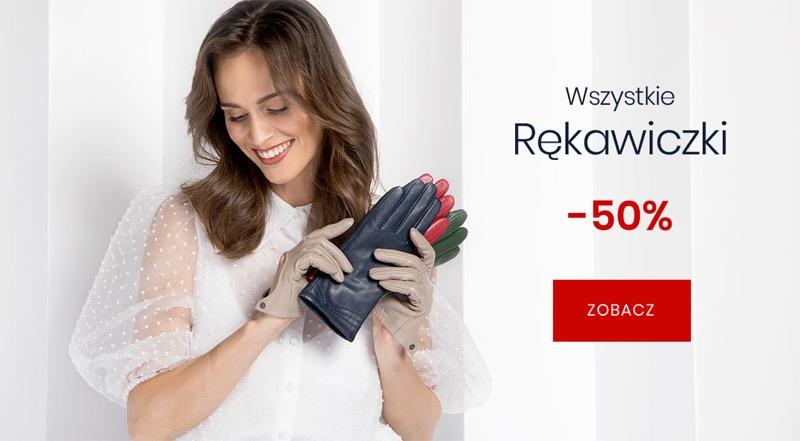 Wittchen Wittchen: 50% zniżki na rękawiczki damskie i męskie