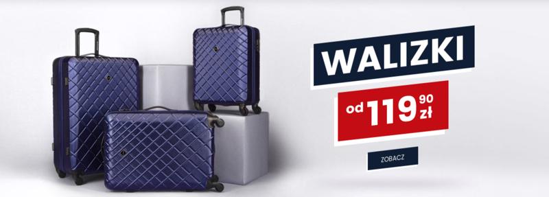 Wittchen: walizki podróżne od 119,90 zł                         title=