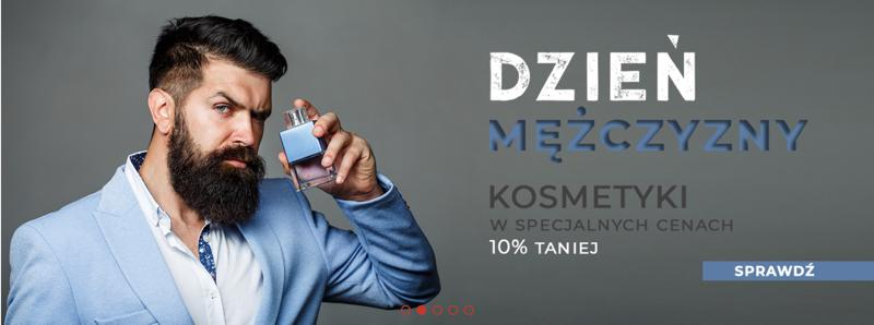 Wizaz24: 10% rabatu na kosmetyki męskie - promocja na Dzień Mężczyzn