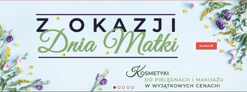 Wizaz24: do 20% zniżki na kosmetyki do pielęgnacji i makijażu na Dzień Matki