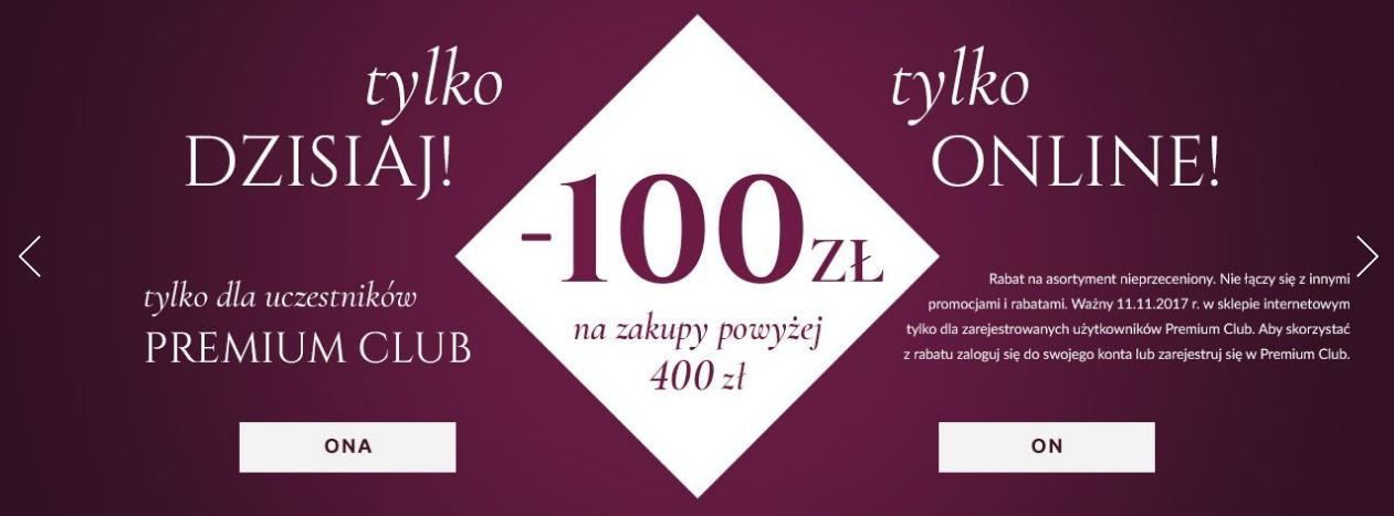 Wojas: 100 zł zniżki na zakupy powyżej 400 zł