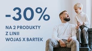 Wojas: 30% zniżki na obuwie dla dzieci Wojas X Bartek - dwa dowolne produkty