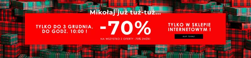 Wólczanka: 70% rabatu na wszystko z oferty -70% zniżki